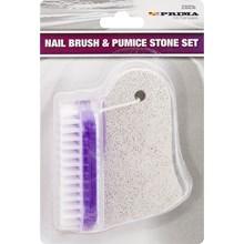 PRIMA - NAIL BRUSH & PUMICE STONE SET