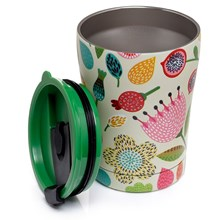 AUTUMN FALLS REUSABLE THERMAL DRINKS CUP - 300ML