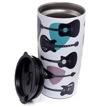 GUITAR  REUSABLE THERMAL DRINK CUP - 500ML