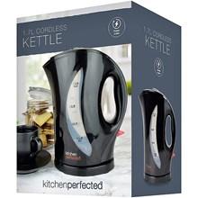 KITCHEN PERFECTED - 1.7L CORDLESS KETTLE - BLACK