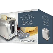 KITCHEN PERFECTED - WIDE SLOT TOASTER