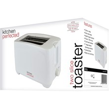 KITCHEN PERFECTED - EXTRA WIDE SLOT TOASTER - WH
