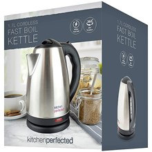 KITCHEN PERFECTED - 1.7L CORDLESS FAST BOIL KETTLE