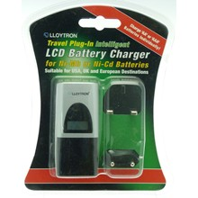 LCD INTELLIGENT TRAVEL BATTERY CHARGER