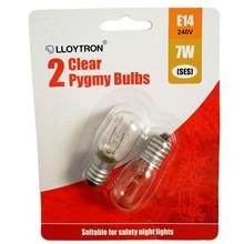 LLOY 2 CLR PYGMY 7W E14