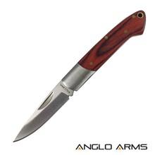 """2.75"""" FOLDING KNIFE & PAKKAWOOD HANDLE"""