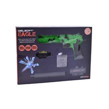 ELECTRIC GEL SOFT PISTOL TOY GUN - GREEN & BLACK