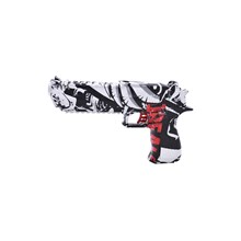 ELECTRIC GEL SOFT PISTOL TOY GUN - GRAFITI BLACK