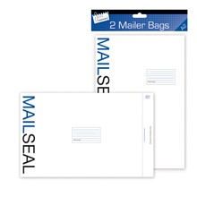 JUST STATIONERY - E MAILER BAGS XTRA LARGE - 2 PK