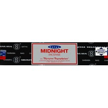 SATYA - MIDNIGHT INCENSE STICKS - 15G X 12 PACK