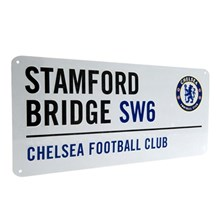 CHELSEA FOOTBALL CLUB STREET SIGN