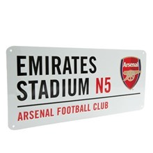 ARSENAL FOOTBALL CLUB STREET SIGN
