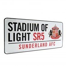 SUNDERLAND AFC STREET SIGN