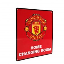 HOME CHANGING ROOM SIGN MANUNTD