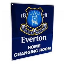 EVERTON HOME CHANGING ROOM