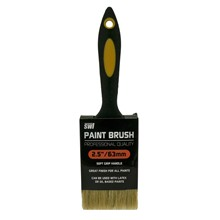 "SWL - PAINT BRUSH 2.5"" RUBBER HANDLE PROFESSION"
