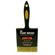 "SWL - PAINT BRUSH 4"" RUBBER HANDLE PROFESSION"