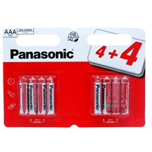 PANASONIC AAA - 8 PACK