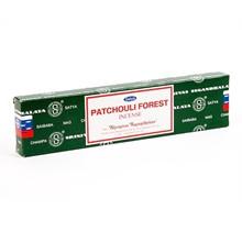 SATYA - PATCHOULI FOREST INCENSE STICKS - 12 PACK