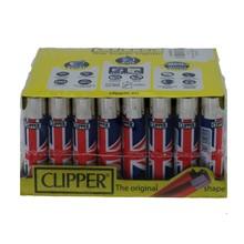 CLIPPER CLASSIC FLINT - UNION JACK - 40 PACK
