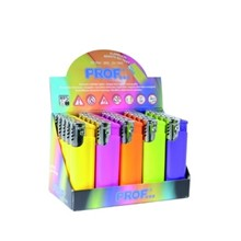 PROF - COLOURS WINDPROOF LIGHTER - 25 PACK
