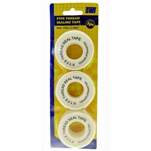 SWL - PTFE THREAD SEALING TAPE - 3 PACK