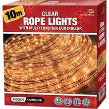 CLEAR 10M ROPE LIGHT
