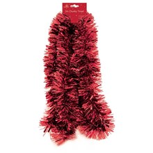 CHUNKY TINSEL - RED - 2M