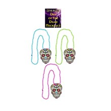 SPOOKY DAY OF THE DEAD NECKLACE