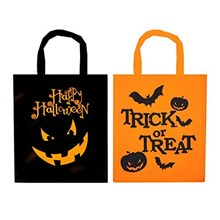 TRICK OR TREAT HALLOWEEN BAG 28 X 34 CM