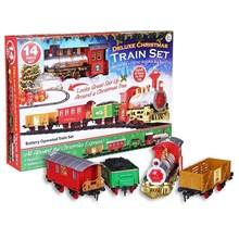 14PC DELUXE CHRISTMAS TRAIN SET