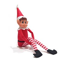 12 Quot Vinyl Faced Naughty Elf