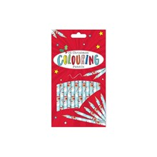 15PC CHRISTMAS COLOURING PENCILS