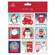 18 ASSORTED GIFT TAGS