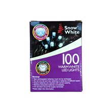 8 FUNCTION LED LIGHTS WITH TIMER - 100 WARM WHITE