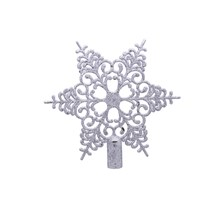 6TIP TREE TOP STAR - SILVER