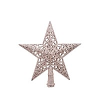 5TIP TREE TOP STAR - CHAMPAGNE
