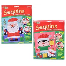 KREATIVE KIDS - CHRISTMAS PEEL AND STICK SEQUINS