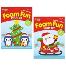 KREATIVE KIDS - CHRISTMAS FOAM FUN CRAFT KIT