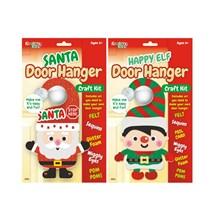 KREATIVE KIDS - CHRISTMAS DOOR HANGER CRAFT KIT