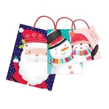 CHRISTMAS GIFT BAG - KIDS S M L - 3 PACK