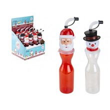 CHRISTMAS DRINKING BOTTLE - 500ML - 2ASST