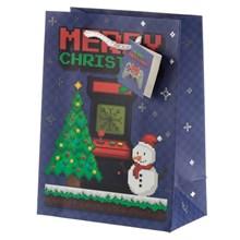 CHRISTMAS GIFT BAG - GAME OVER - MEDIUM