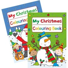 MY CHRISTMAS COLOURING BOOK - 2ASST