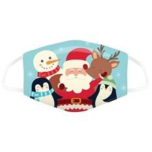 REUSABLE FACE MASK - CHRISTMAS CHARACTERS - SMALL