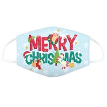 REUSABLE FACE MASK - MERRY CHRISTMAS LARGE