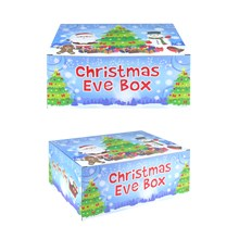 CHRISTMAS EVE BOX - BLUE 35X25X15CM
