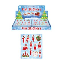 ELF CHRISTMAS STICKERS SHEET