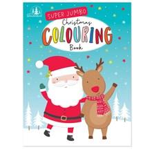 CHRISTMAS JUMBO COLOURING BOOK