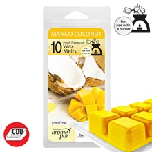 AROME PUR - MANGO COCONUT WAX MELTS - 10 PACK